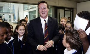 David Cameron, yesterday