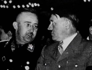 Himmler and Hitler, yesterday