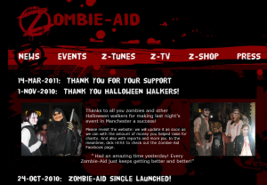 Zombie Aid site update 14-07-11